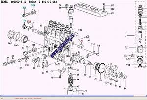 106060-5140  9410610053 -  U0422 U041d U0412 U0414  Fuel Injection Pump Zexel