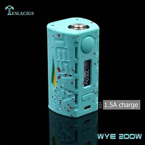 Vape Mods 2017 Newest Tesla Wye 200w Chargeable Abs Style