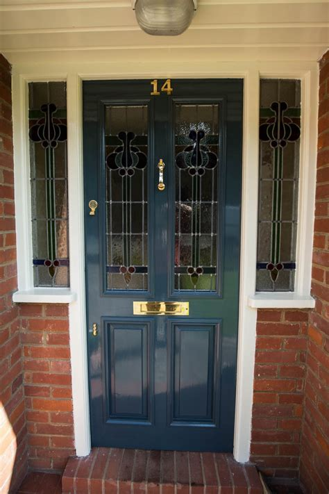 stained glass front door waterhall joinery