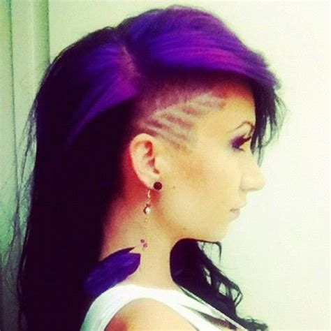 images  shaved styles  pinterest side shave hair tattoos  design