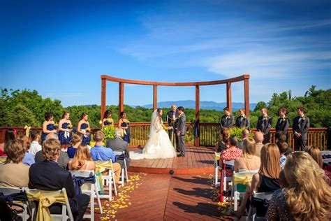 imagine  wedding  smoky mountain views surrounded