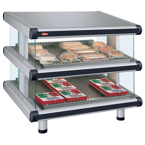gr2sds d glo ray designer merchandising dual shelf warmer