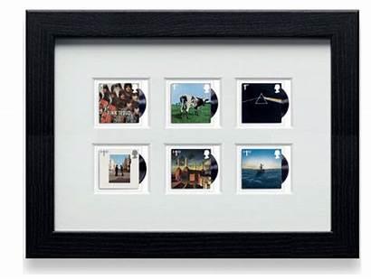 Pink Stamps Floyd Framed Royal Mail