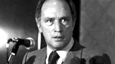 Pierre Trudeau by Pierre Trudeau Separation Of Church And State Youtube