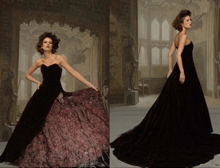 gothic and black wedding dresses handmade victorian