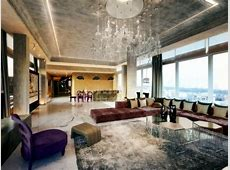 Luxurious penthouse apartment with private terrace and