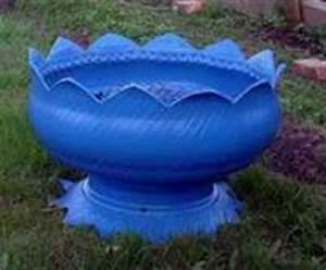 Basteln Mit Autoreifen : bauidee vase aus alten autoreifen blog an na haus und ~ Lizthompson.info Haus und Dekorationen