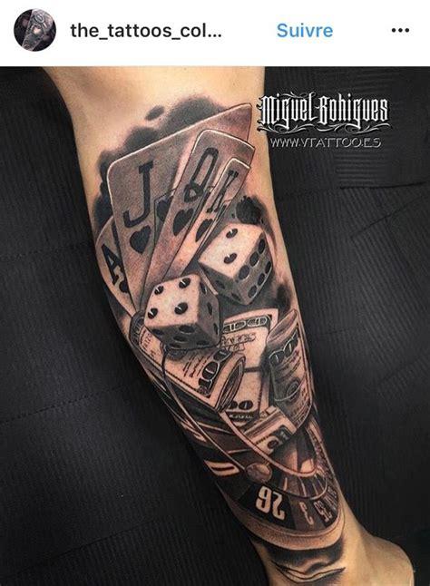 tattoo dice card poker tattoo tattoos casino tattoo