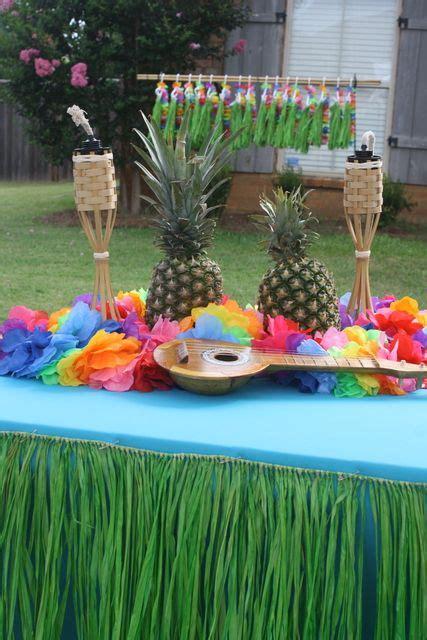 luau birthday party ideas luau party stuffs pinterest