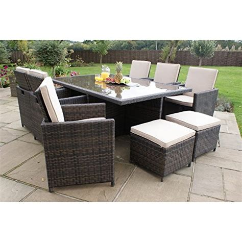san diego dallas baby rattan garden furniture brown 7