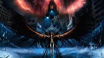 Angel Dark Angels Desktop Wallpapers Fallen Background