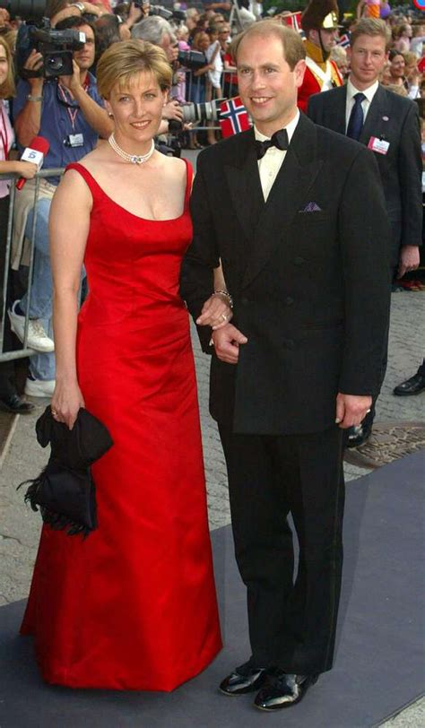 Sophie, The Countess Of Wessex Dazzled In A Stunning Red ...