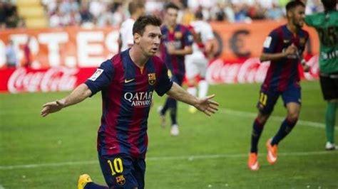 El Barcelona gana en Vallecas con goles de Messi y Neymar ...