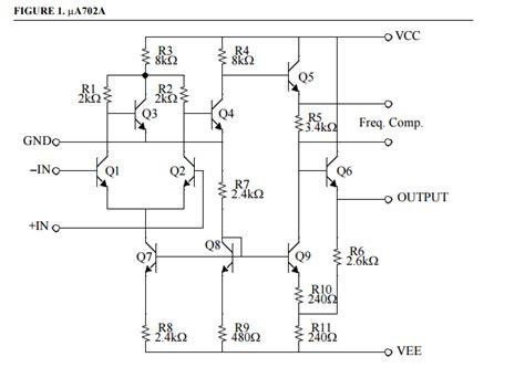 Operational Amplifier Opamp Internal Circuit