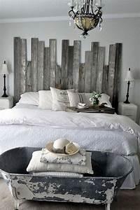 16, Outstanding, Diy, Reclaimed, Wood, Headboards, For, Rustic, Bedroom