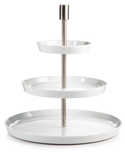 Entertaining Etagere by By Rosenthal Loft Etagere Tiered Server