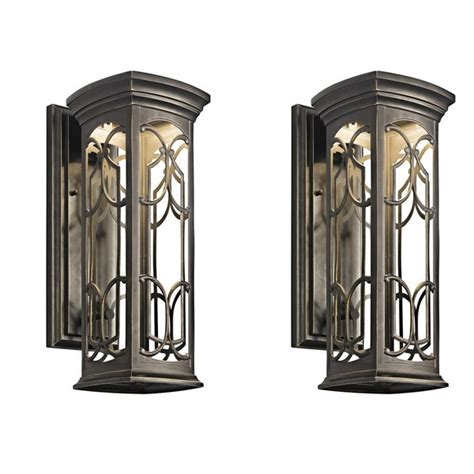 wall lights design kichler outdoor wall mount lights with