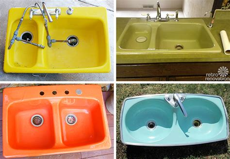 Brightlycolored Kitchen Sinks  Door Sixteen