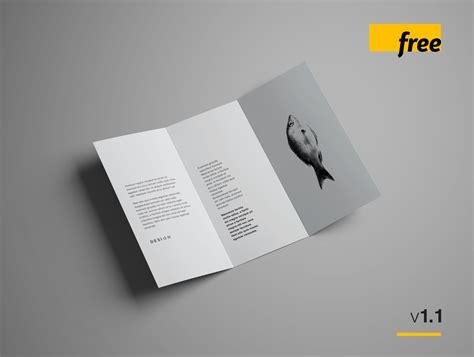 Brochure Mockup Free Advanced Trifold Brochure Mockup 7 Angles Uxfree