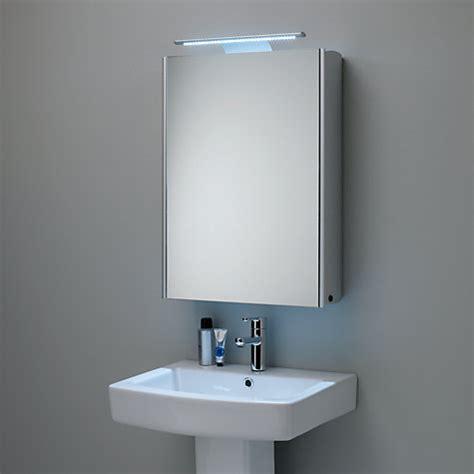 Bathroom Mirror Cabinets Uk by Buy Roper Equinox Illuminated Single Mirrored
