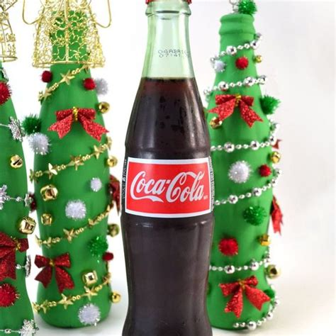 coca cola decorations coca cola glass bottle tree craft hometalk