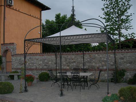 gazebo da terrazzo gazebo in ferro da giardino tendasol