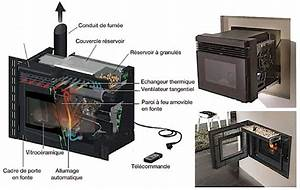 Adaptateur Granule Pour Insert : cheminee insert a granules ~ Dailycaller-alerts.com Idées de Décoration