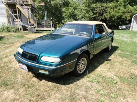 1995 Chrysler Lebaron Gtc Convertible by Sell Used 1995 Chrysler Lebaron Gtc Convertible 2 Door 3
