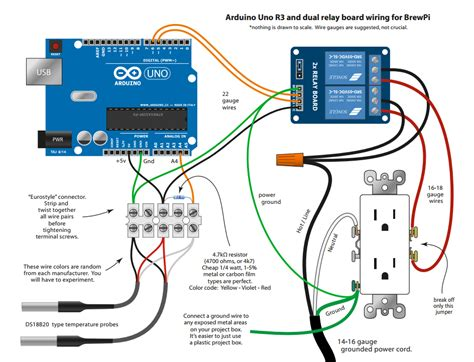 Arduino Uno Shield Correct Schematic Hardware Brewpi