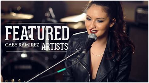 taylor swift blank space acoustic cover  gaby ramirez