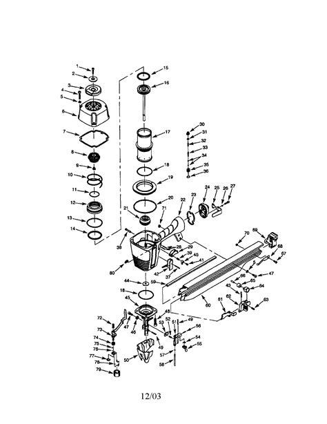 CRAFTSMAN NAILER Parts | Model 351181780 | Sears PartsDirect