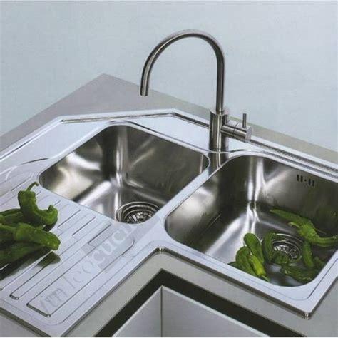 franke lavello angolo incasso angolare acciaio inox ala laterale keittioe kitchen muebles de