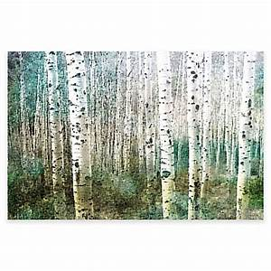 Parvez taj aspen canvas wall art bed bath beyond for Best brand of paint for kitchen cabinets with aspen tree canvas wall art