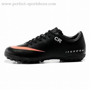 Discount Black Orange Nike Mercurial Vapor IX TF Cristiano . cc12013bbb4dc