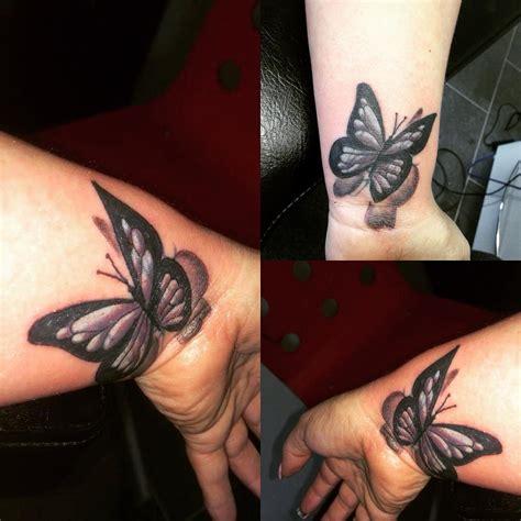 Black Butterfly Tattoos Designs