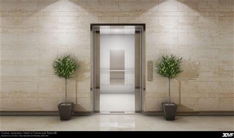 bureau d ude ascenseur 3dvf com portfolio de rolandb couloir ascenseur