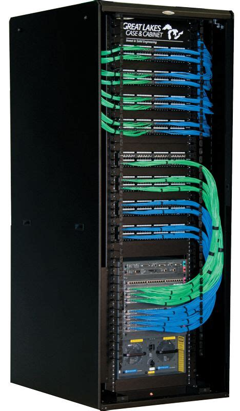 comms rack cable management  structured cabling cable