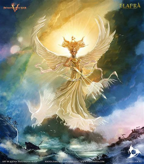 Goddess Of Light by Goddess Of Light By Kseniayakushina 2d Cgsociety