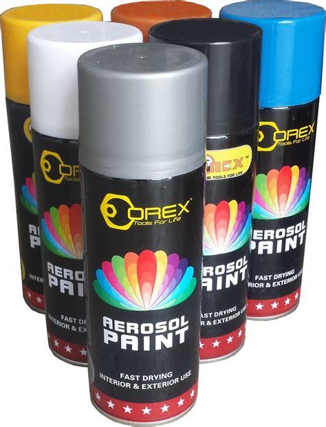 Orex Spray Paint 400ml  Spray Paints  Horme Singapore