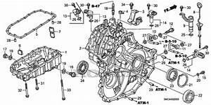 2004 Honda Accord Transmission Parts Diagram