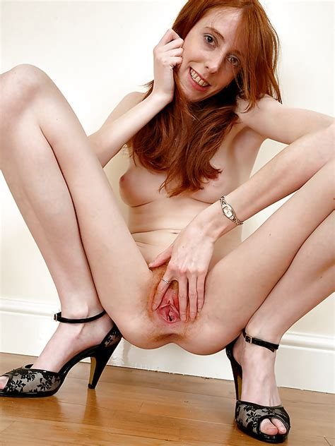 skinny redhead with hairy pussy 10 pics