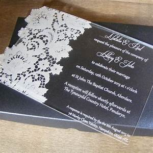 lace butterfly personalised acrylic wedding invitation With wedding invitation boxes south africa