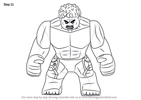 Lego Hulk Coloring Pages At Getcolorings.com
