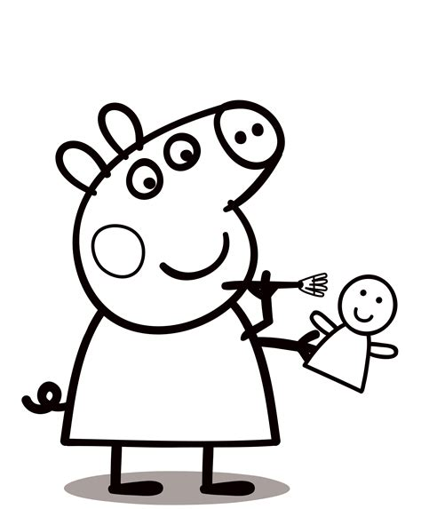 peppa pig coloring pages  print    color