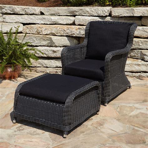 Resin Wicker Chairs Cane Patio Outdoor Furniture Clearance