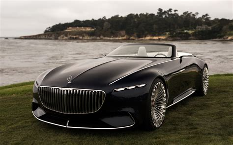 Vision Mercedes-maybach 6 Cabriolet 4k Ultra Hd Wallpaper