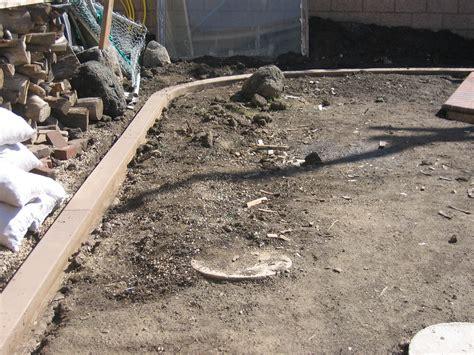 concrete mow mow strips by pvm concrete of la mirada