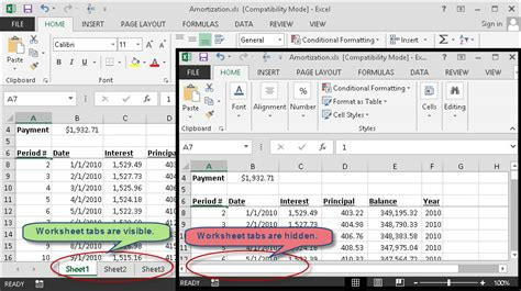 what to do when excel worksheet tabs go missing chris memo