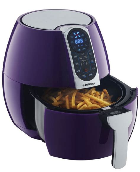 air fryer fryers gowise wise go purple usa kitchen