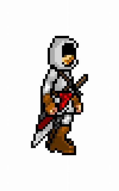 Pixel Creed Assassin Scratch Zombie Walk Animation